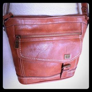 BOC born concept brown leather purse